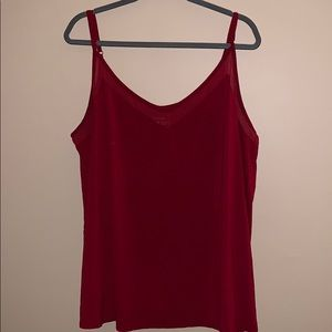 Torrid super soft knits size 4 red tank top